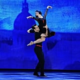 """Robbie Fairchild Performing in """"An American in Paris"""" on Broadway in 2015"""