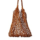 Zara Studio Woven Leather Shopper