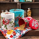 The Pioneer Woman Country Garden 3-Piece Canister Set ($36)