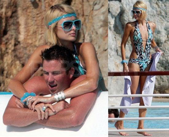 Bikini Photos of Paris Hilton, Video Clip of Paris Hilton Documentary Paris Not France