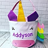 Personalized Unicorn Easter Basket