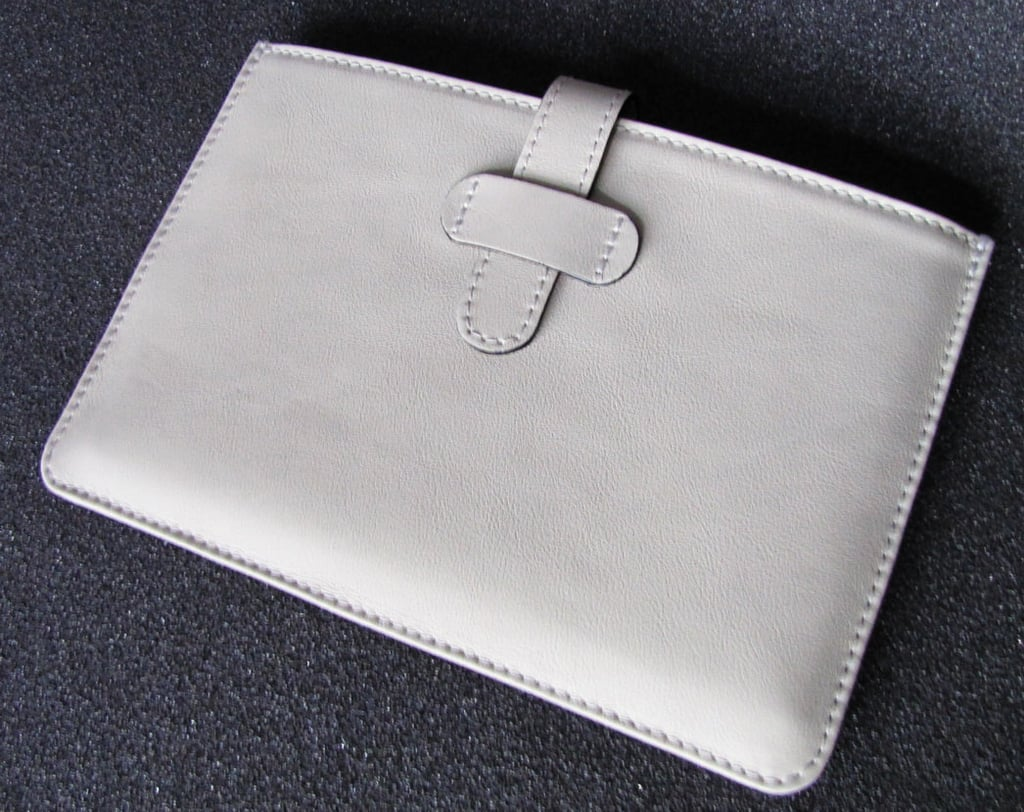 White Leather Case ($43)