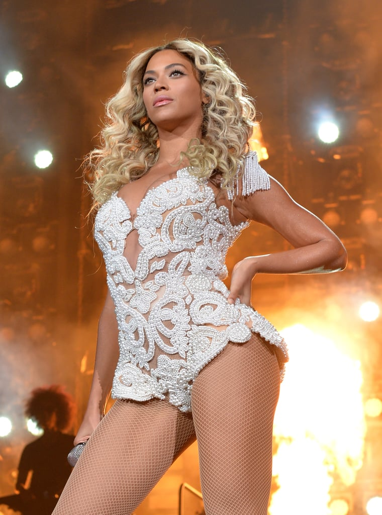 Beyoncé's took the stage at the Staples Center in LA.
