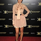 Kourtney Kardashian at the Kardashian Kollection launch.