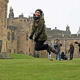 I'm not ashamed to admit I did the broomstick training class at Alnwick along with 20 or so children (and a few adults). There are several times for this throughout the day, and it's also free, but with limited availability. Grab your ticket when you first arrive if you want to run around on a broomstick where Hogwarts students took their first flying lessons from Madam Hooch in Harry Potter and the Sorcerer's Stone. And seriously, who wouldn't??