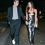 Noah Centineo and Alexis Ren Attend UNICEF Masquerade Ball