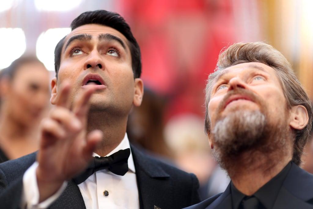 Pictured: Kumail Nanjiani and Willem Dafoe