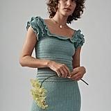 She Made Me Saachi Frill Mini Dress
