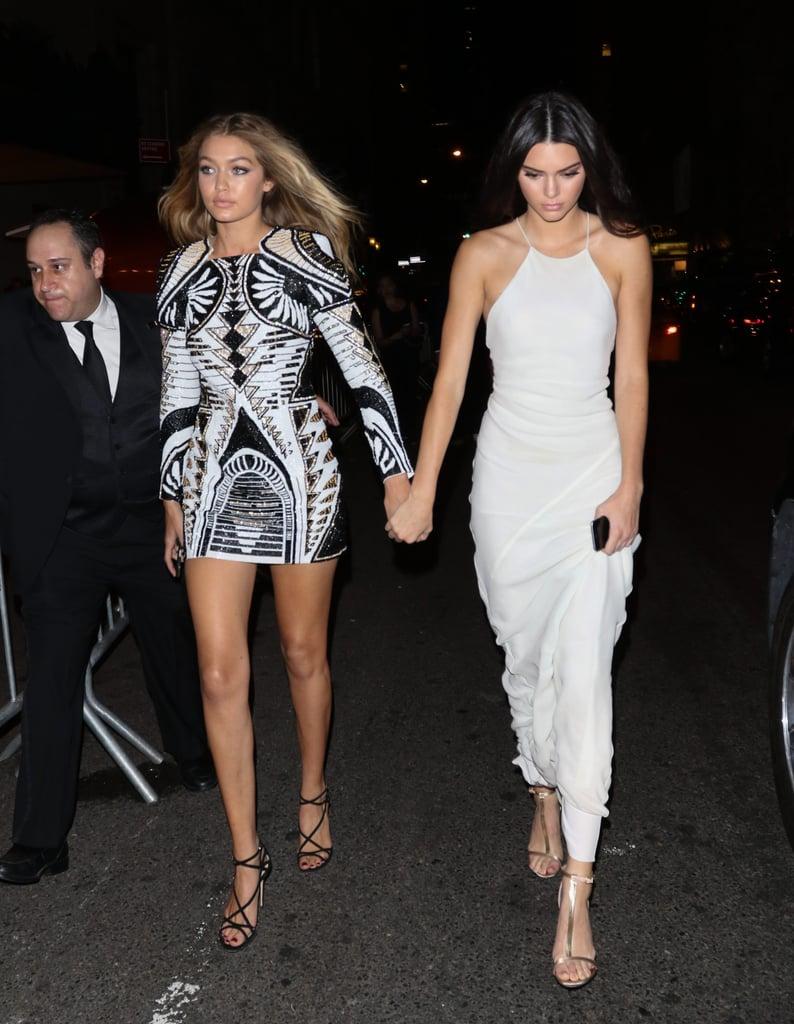 Gigi Hadid And Kendall Jenner Cutest Pictures Popsugar Celebrity