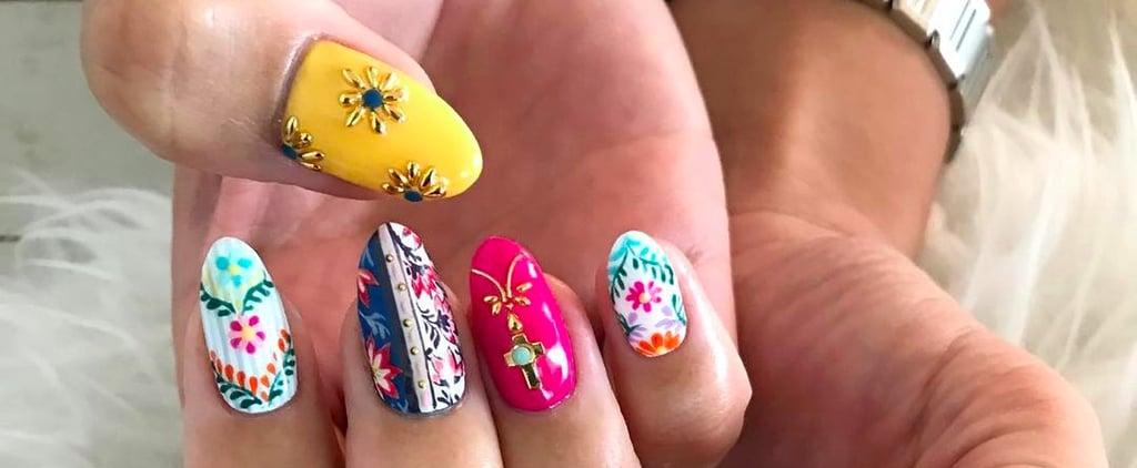 20+ Manicures Inspired by the Beautiful Colours of Morocco