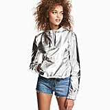 H&M's Shimmery Metallic Jacket ($40) is perfect for an outfit with a sporty touch.
