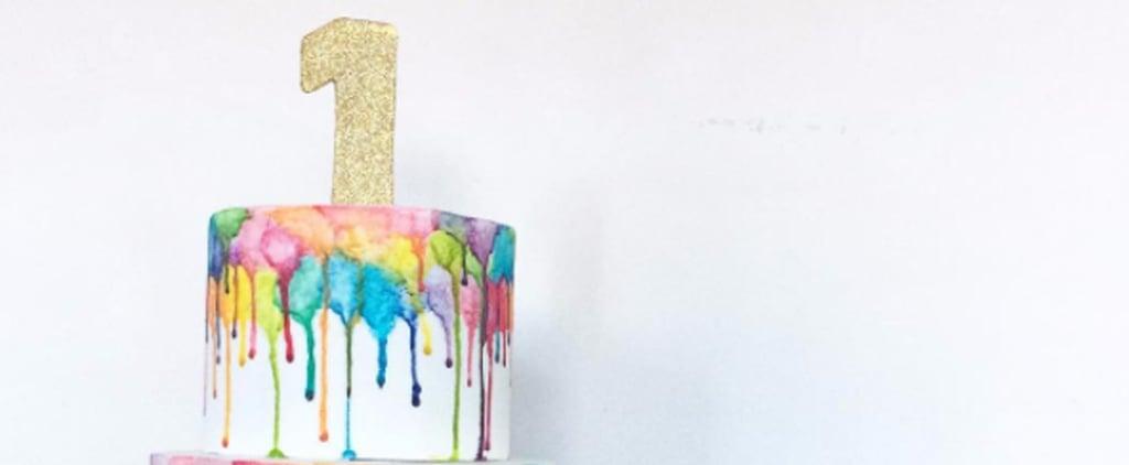 Rainbow Birthday Cakes For Kids