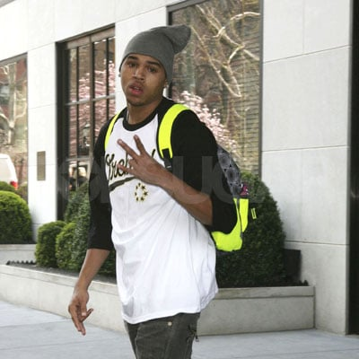 Chris Brown in NYC