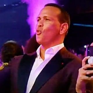 Alex Rodriguez Reaction to Jennifer Lopez VMAs Performance