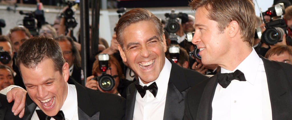 8 Reasons We Never Want to Be Friends With George Clooney, Matt Damon, or Brad Pitt