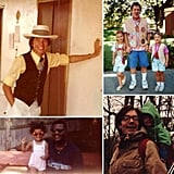 Happy Father's Day! Take a look at our dads' most memorable style snaps and make sure to give yours an extra big hug today.