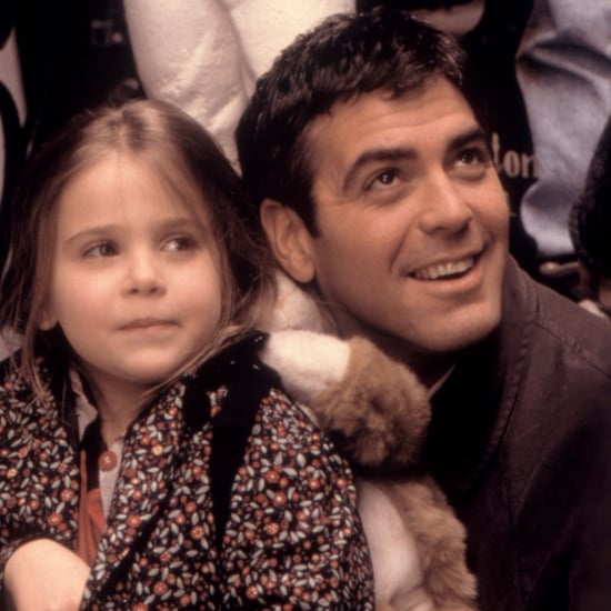 Mae Whitman Congratulates George Clooney on Twins