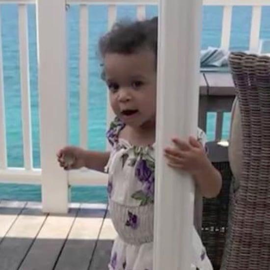 Ludacris Instagram Video of Daughter Cadence Jan. 2017