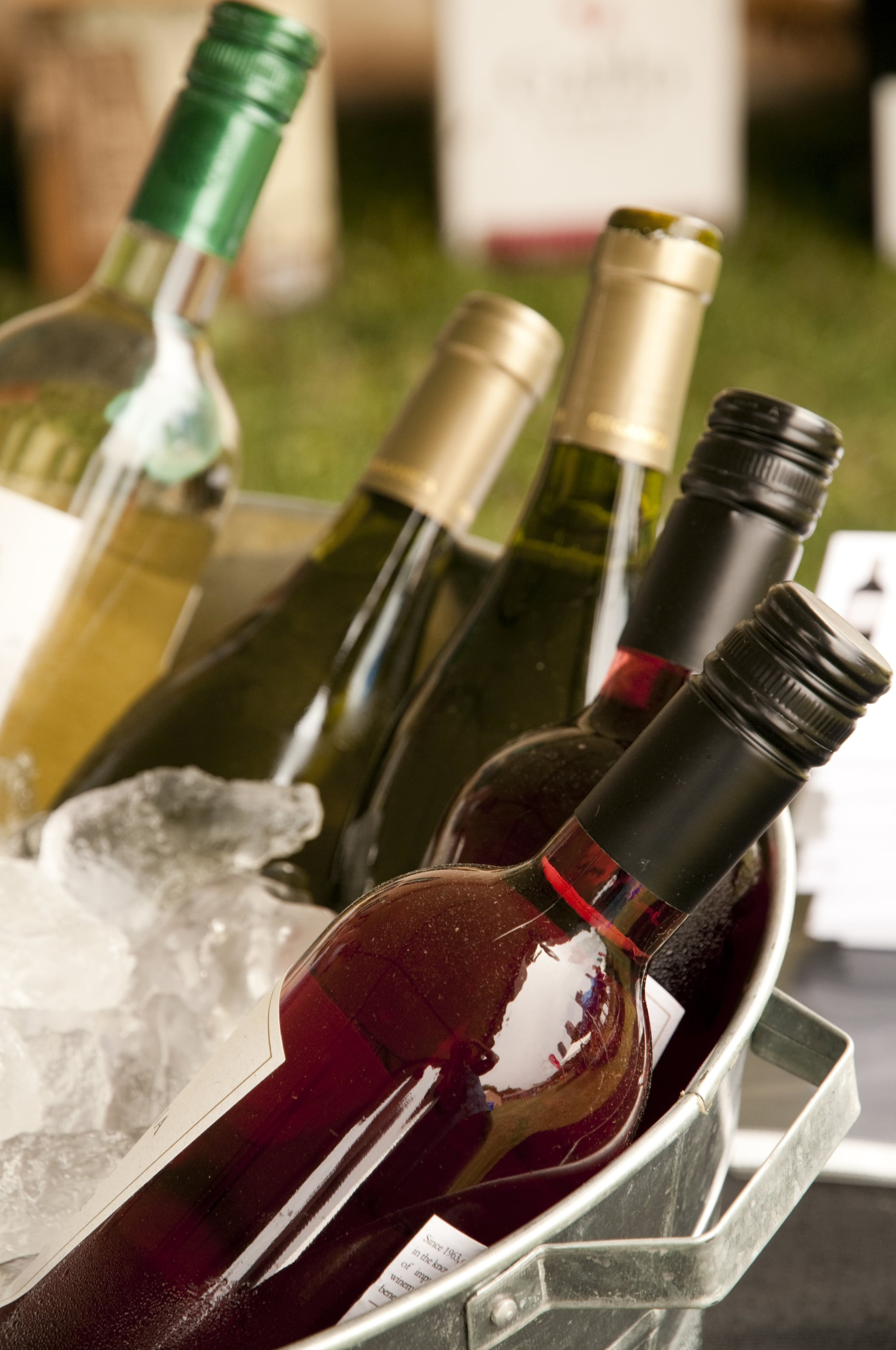 how to chill wine fast popsugar food