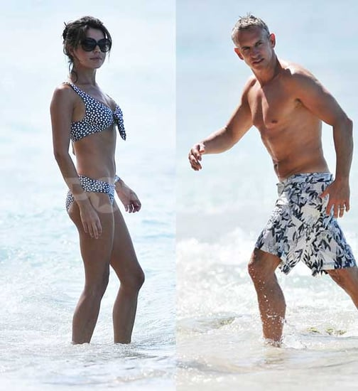 Pictures of Danielle Lineker in Bikini and Shirtless Gary Lineker on Holiday in Barbados