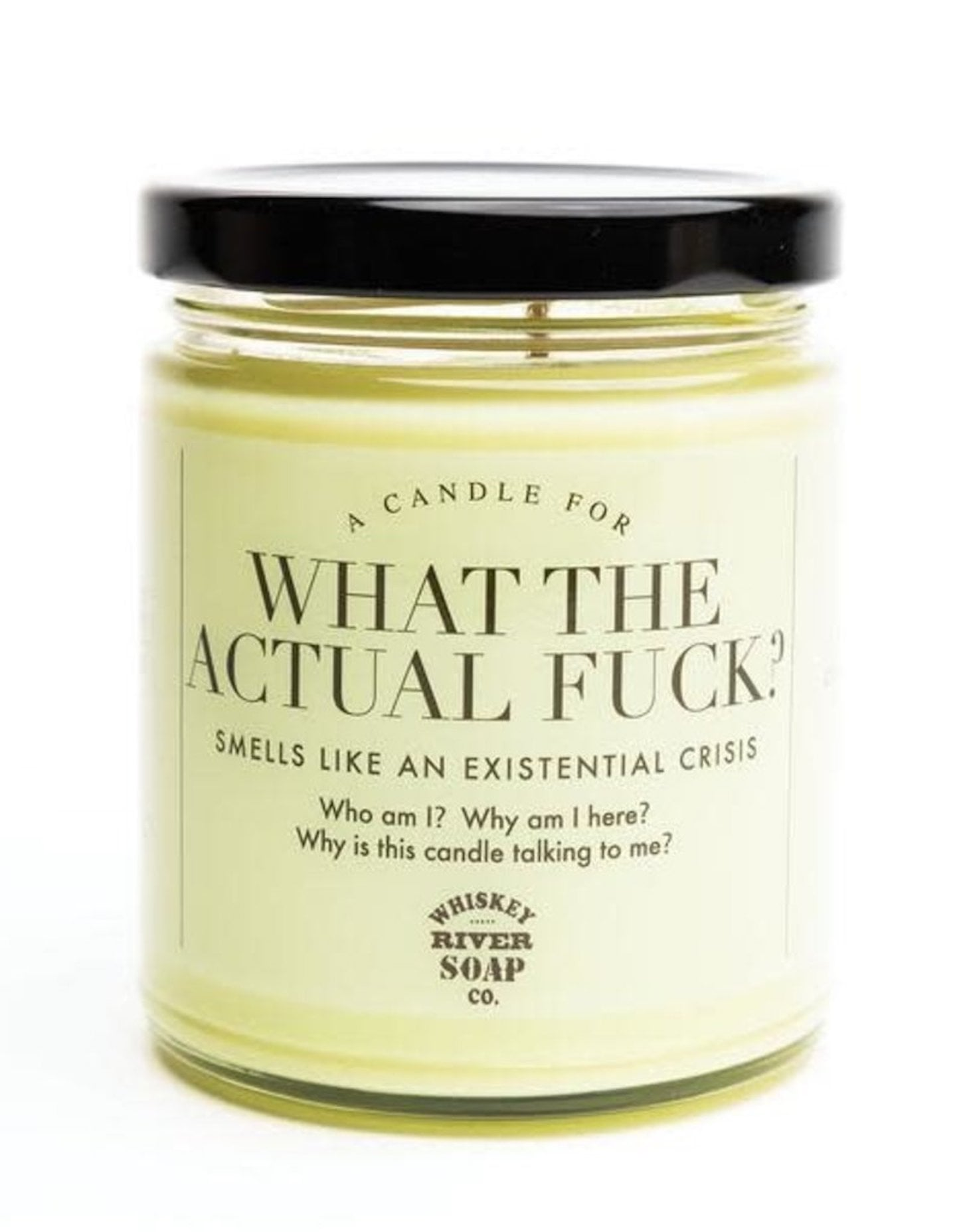 "This What the Actual F*ck? Candle ""Smells Like an Existential Crisis,"" and We Feel So Seen"