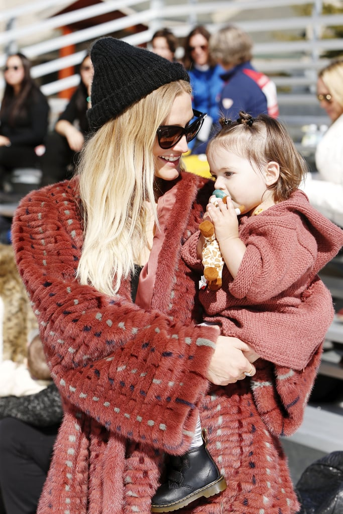 Ashlee Simpson and Her Family at Operation Smile Ski Party