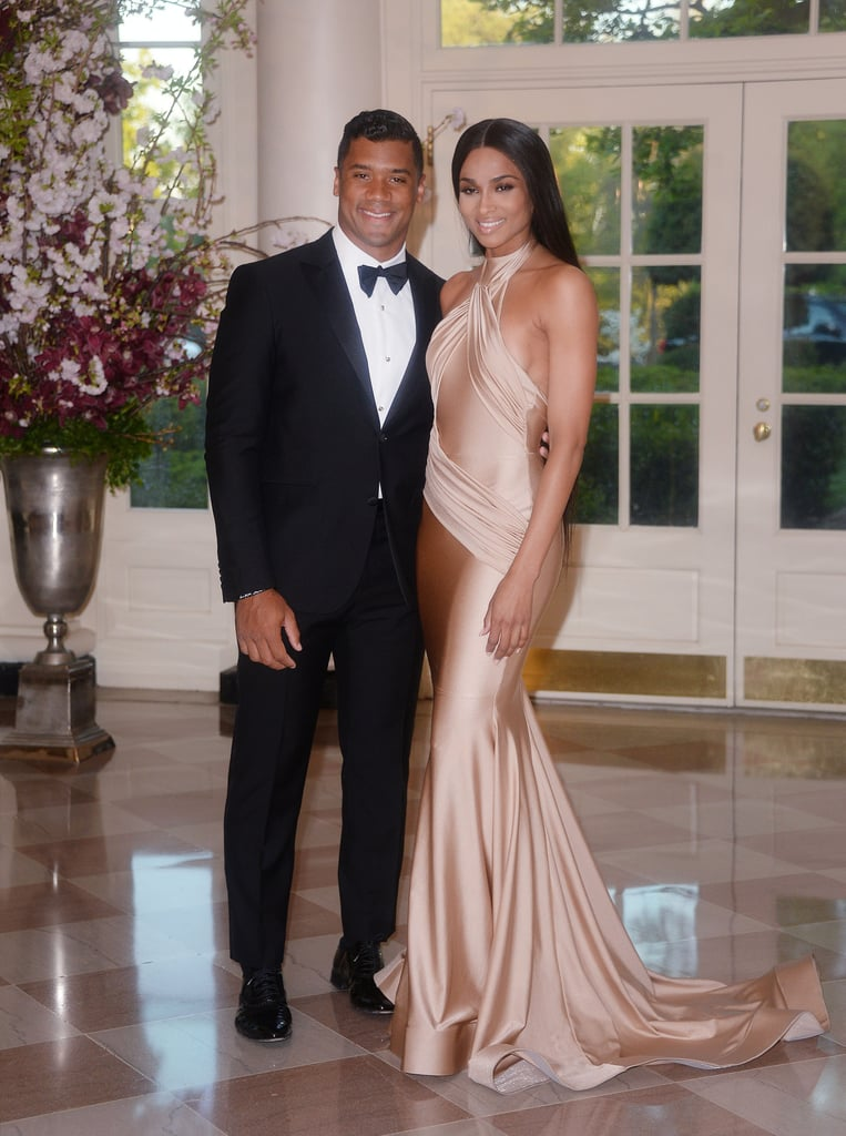 Ciara and Russell Wilson at White House | Pictures