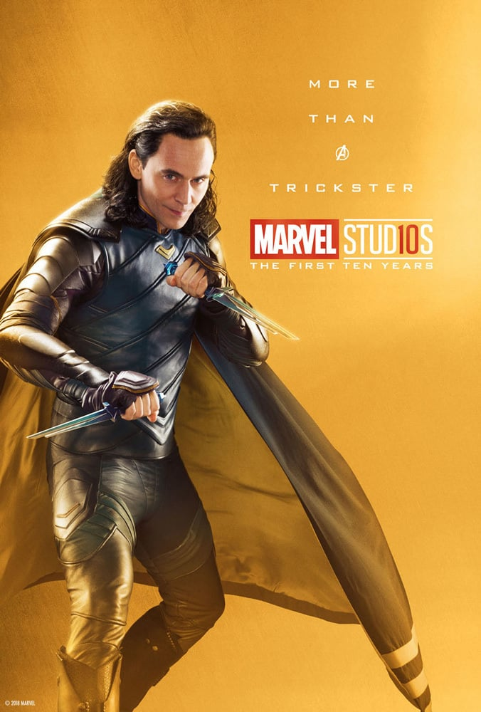 Loki Odinson Laufeyson Marvel Studios Celebrating 10th