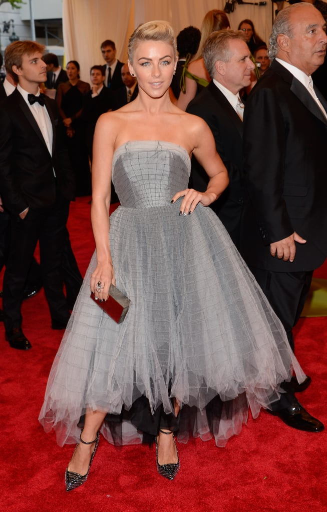 Julianne Hough erased her squeaky-clean image with a gothic ballerina frock.