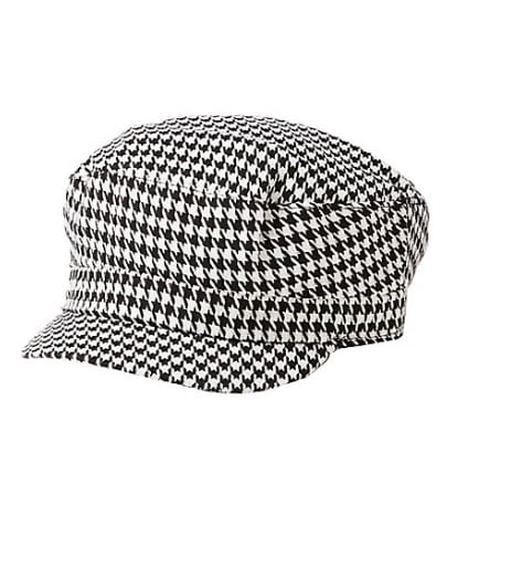 Herringbone Cabby Hat