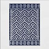 Jacamar Tribal Design Tufted Rug