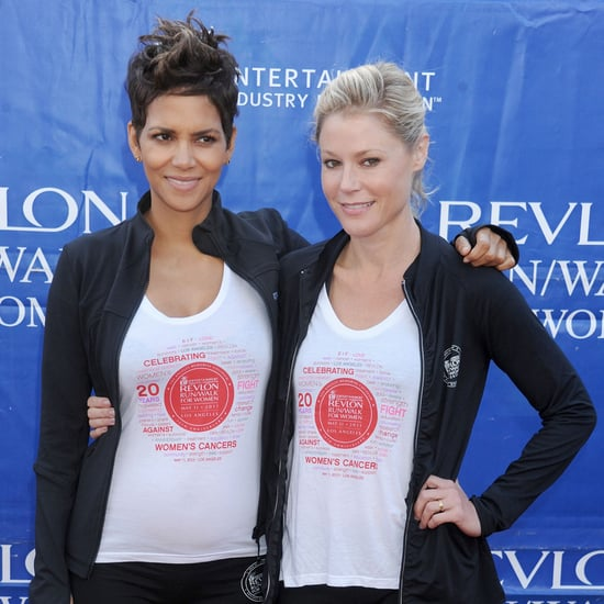 Pregnant Halle Berry Baby Bump Pictures at Revlon Run Walk