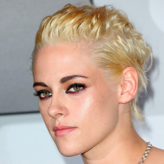 Kristen Stewart With Platinum Blonde Hair | September 2016