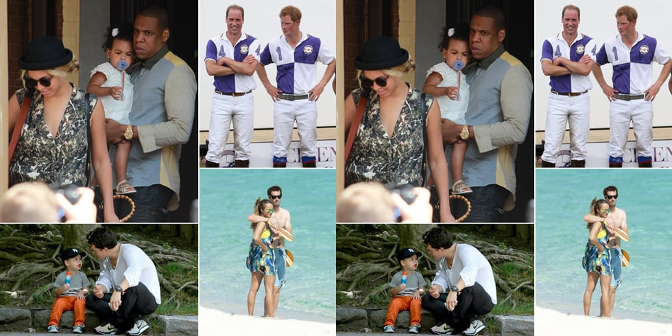Celeb News: Beyonce, Blue Ivy, Flynn Bloom, Prince William