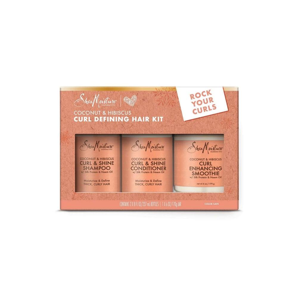 SheaMoisture Coconut Hibiscus Curl Defining Hair Kit