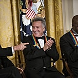 Honorees David Letterman, Dustin Hoffman, and Buddy Guy enjoyed themselves at the event.