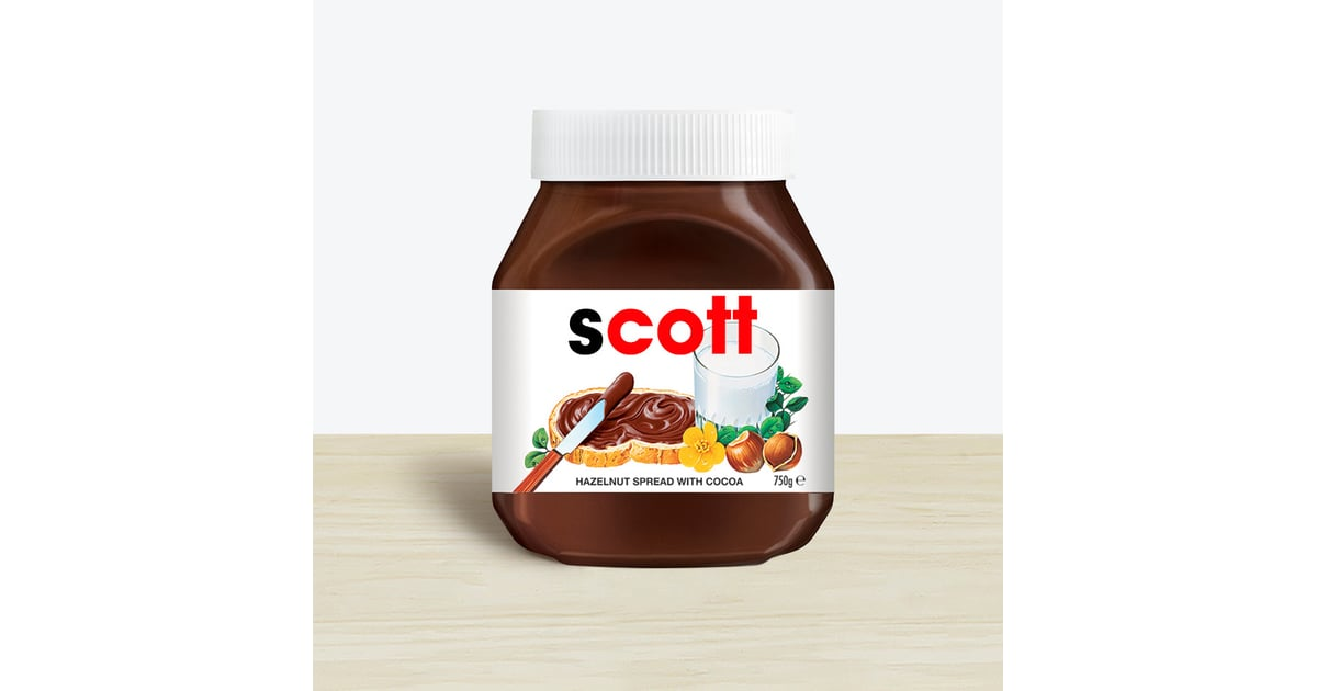 how to buy personalised nutella