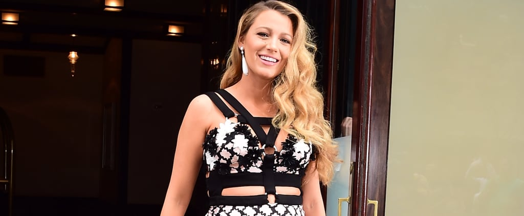 Blake Lively Rocks Yet Another Daring Maternity Look For a Night Out in NYC