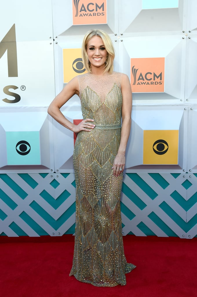 Carrie Underwood at the ACM Awards 2016