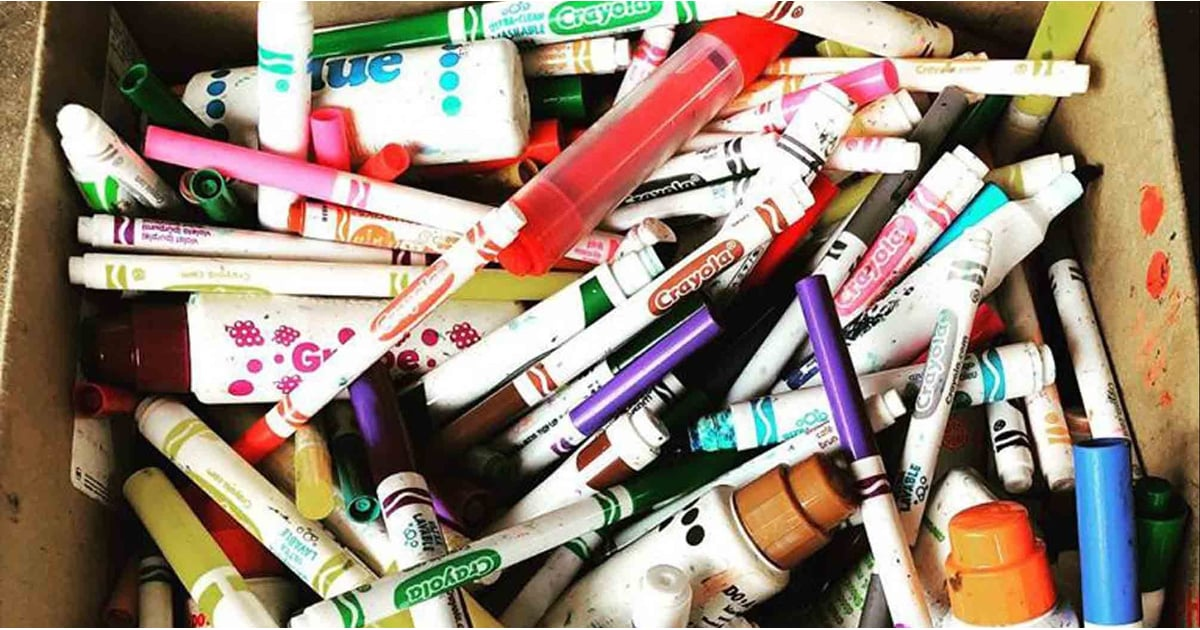 1 Mom's Viral Reminder Will Make You Think Twice About Chucking Your Kid's Old Markers in the Trash