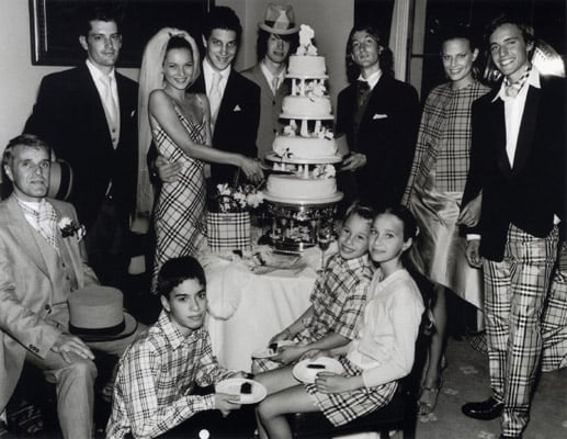 Flashback — Kate Moss Plays Bride for Burberry's Spring 2000 Ad Campaign