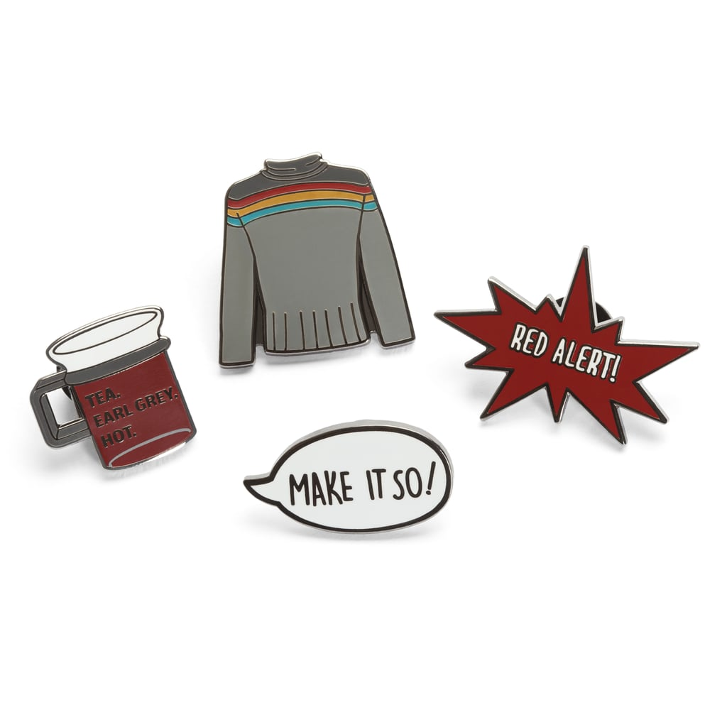 Star Trek: The Next Generation Enamel Pin Sets ($15)