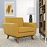 Modway Engage Mid-Century Modern Fabric Accent Chair
