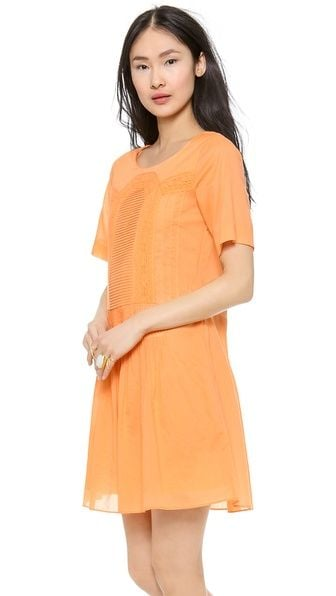 Paul & Joe Sister Lace Trim Dress ($123, originally $175)