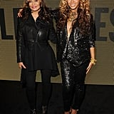 Tina and Bey strutted the catwalk at the launch of House of Dereon at Selfridges in London back in 2011.