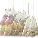 Bodaon Reusable Organic Cotton Mesh Produce Bags