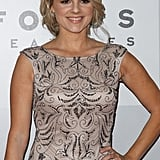 Ali Fedotowsky posed on the red carpet.