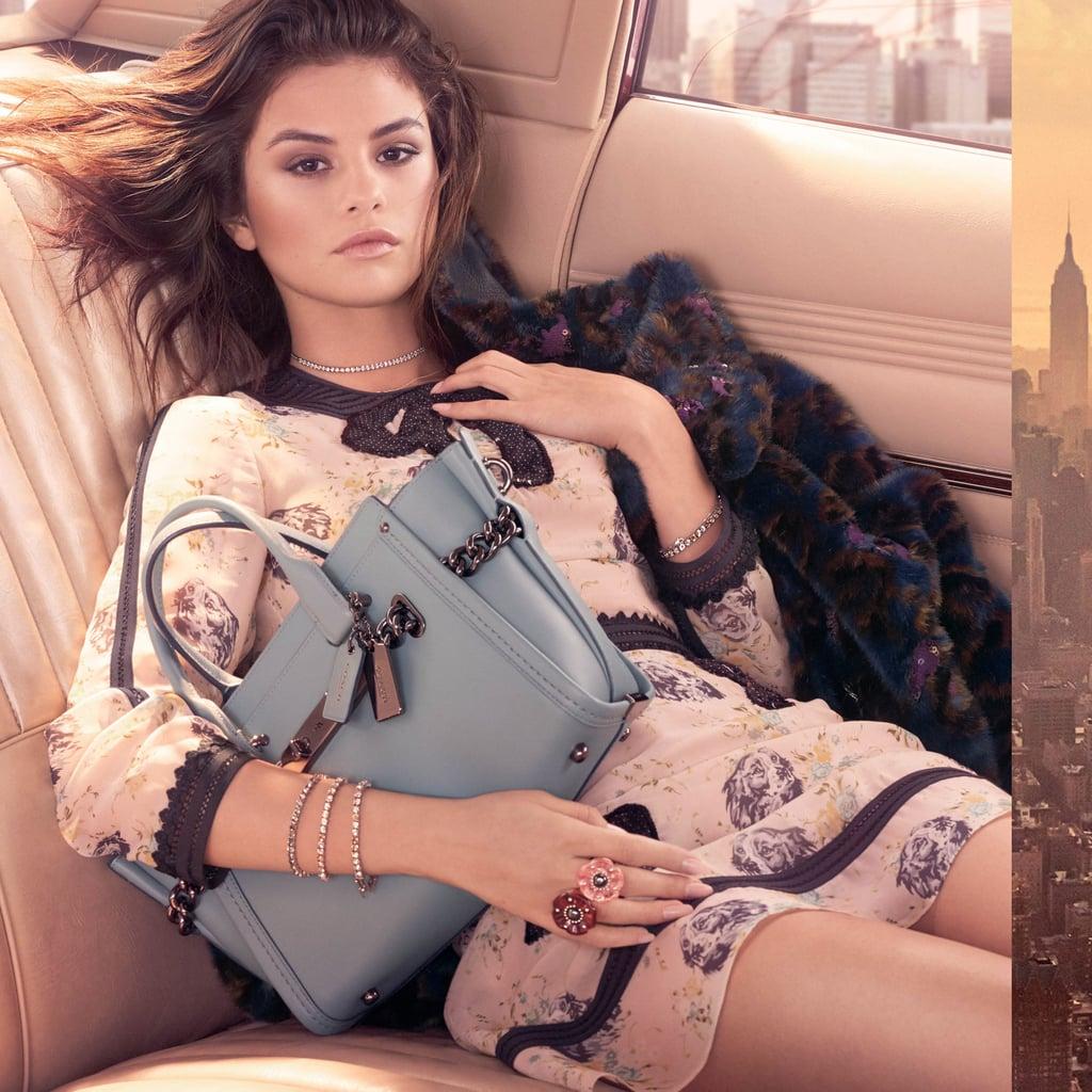 Selena Gomez's Coach Campaign