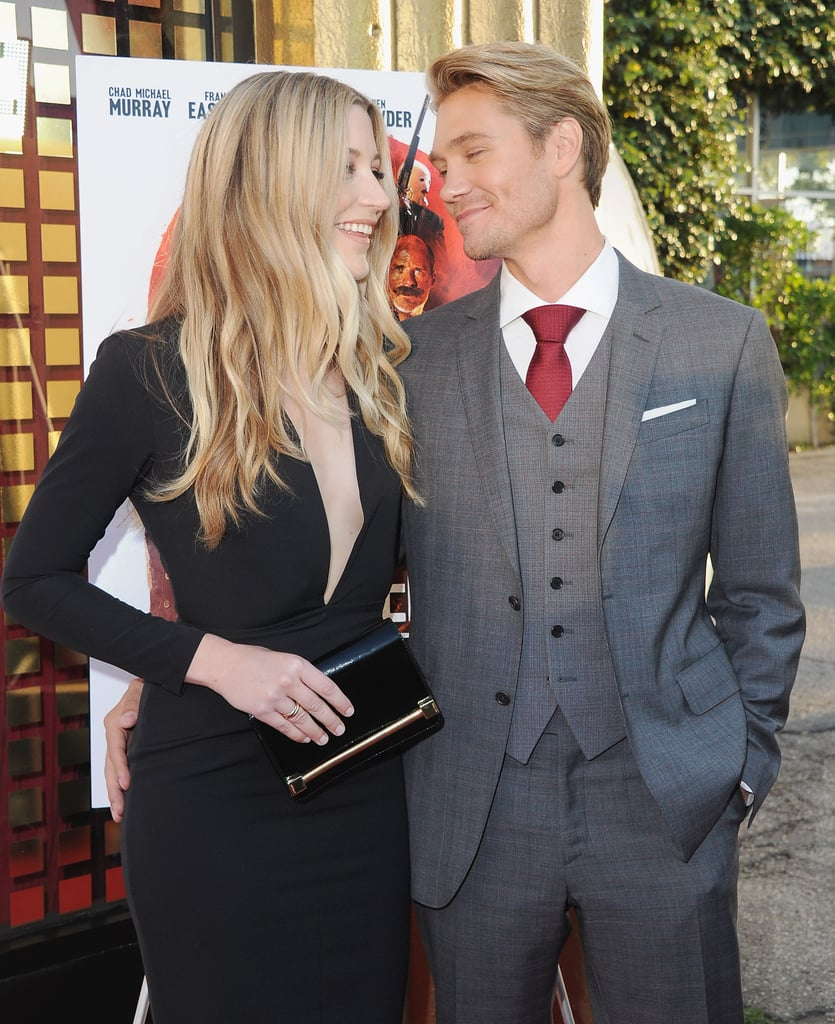 Chad Michael Murray's wife, Sarah Roemer, was on hand to support her other half at the LA premiere of his new film Outlaws and Angels on Tuesday night. The couple — who welcomed their first child a little over a year ago — were as cute as can be as they exchanged loving looks and sweet smiles on the red carpet. While we usually don't see much of these out together, just last month, the duo arrived at the CMT Music Awards hand in hand, and in January, they popped up at the Sundance Film Festival. See more of their red carpet outing now, then find out what the rest of the One Tree Hill cast is up to now.