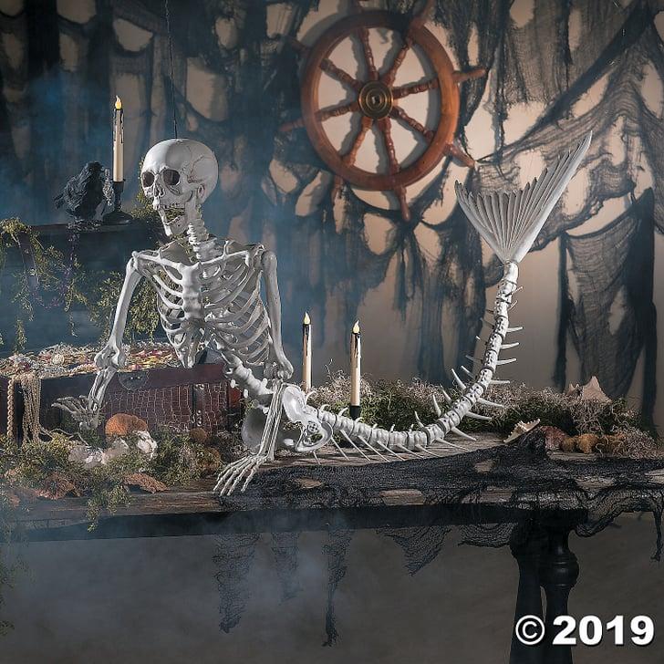The Original Mermaid Life Size Skeleton Halloween Decor